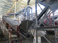 А new gypsum production facility