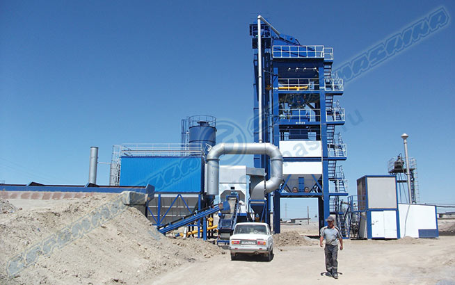 Asphalt concrete  plants SM Series